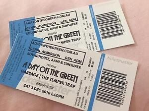 1 x garbage/temper trap tickets 03/12 North Rothbury Cessnock Area Preview