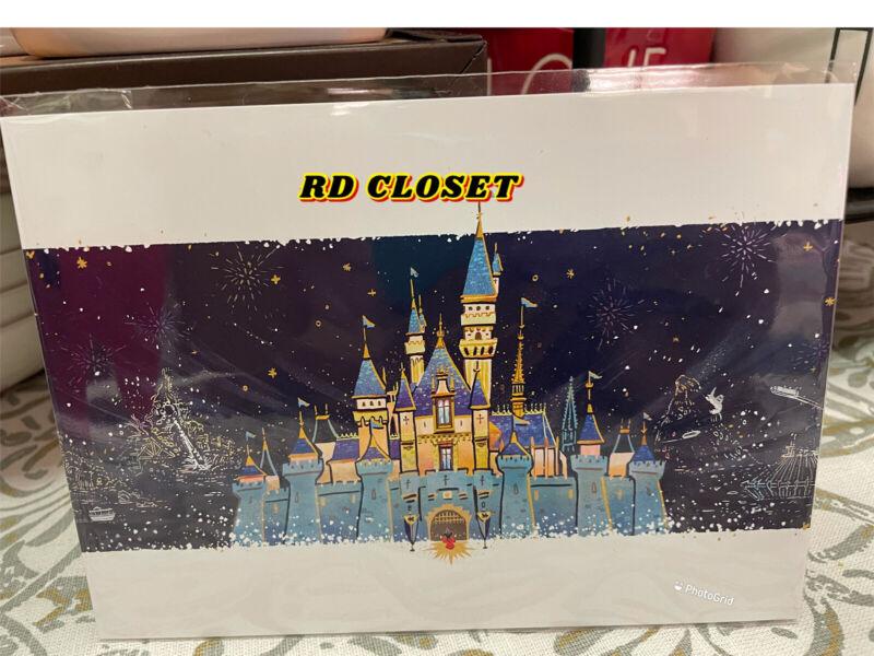 "Disneyland Wonderground Gallery Once Upon A Dream 5"" x 7"" Postcard Josey Tsao"