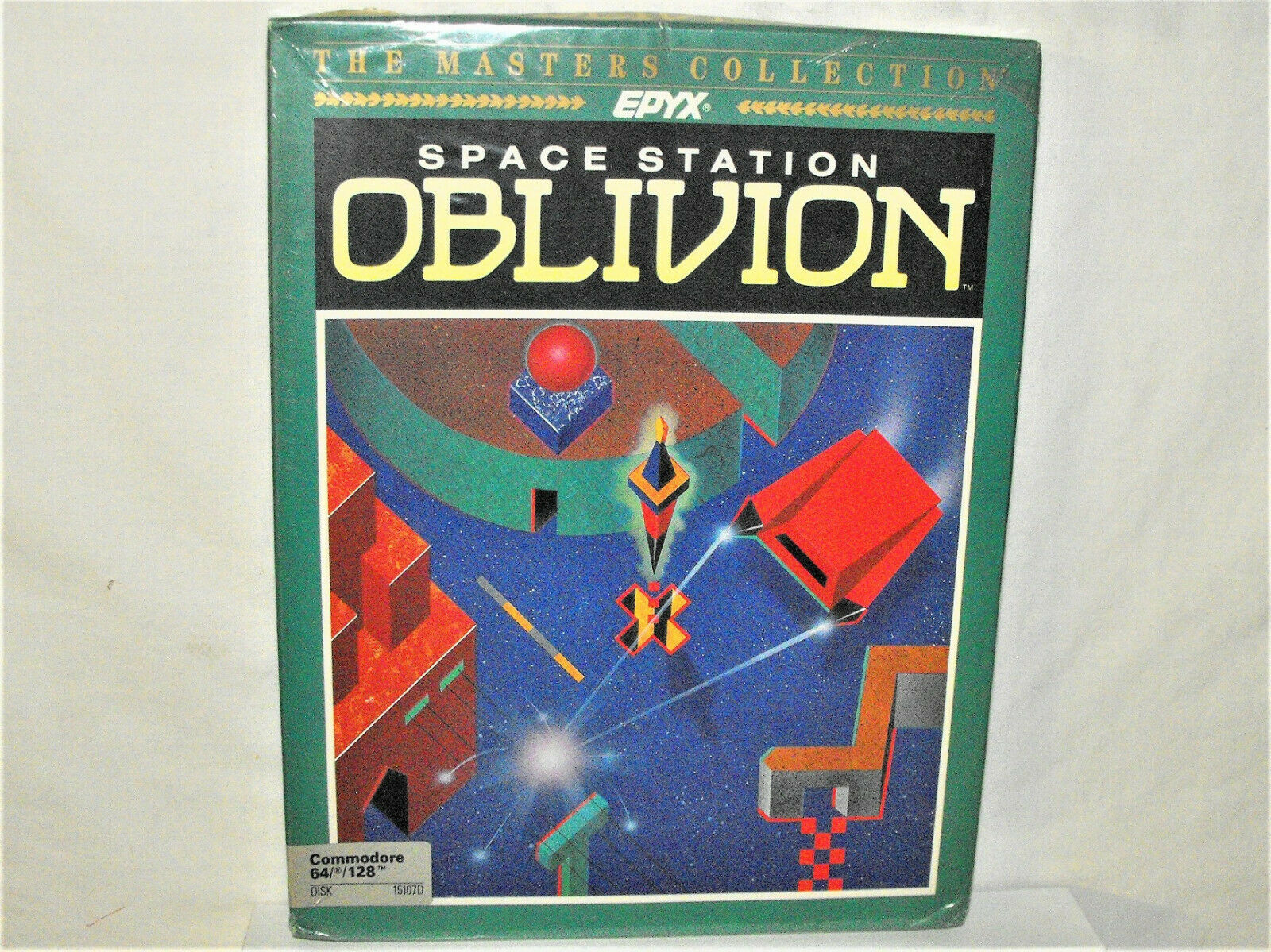 Computer Games - Commodore 64/128 PC Computer Game SPACE STATION OBLIVION Sealed Box EPYX Disk NR