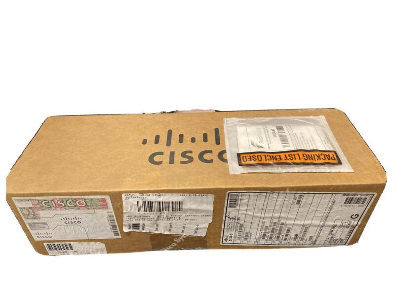 NEW Cisco PWR-C2-640WAC 640 WAC Power Supply
