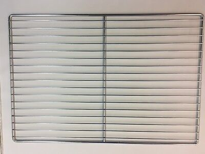Flat Wire Commercial Oven Rack Chrome Plated 26 X 17.75