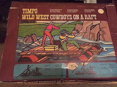 Timpo Vintage Wild West Rare Trade Box