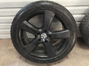 VW Touareg summer tire & rims 275/40 r20