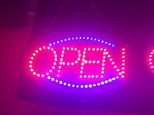 "BEAUTIFUL BRIGHT ""OPEN"" SIGN"