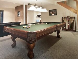 Pool Table ~Brunswick Slate Table