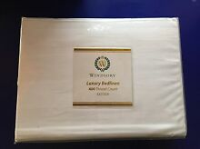 Luxury King size quilt cover - 400 thread count - BNWT Greenbank Logan Area Preview