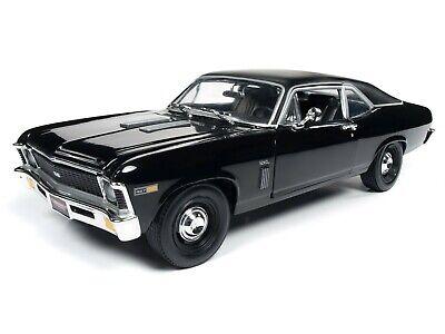 2019 1:18 AUTO WORLD AMERICAN MUSCLE *BLACK* 1969 Chevrolet YENKO NOVA NIB! for sale  Dubuque