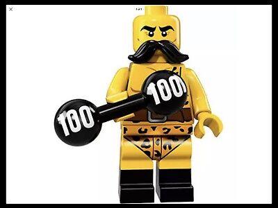 LEGO Series 17Circus Strong Man Minifigure - Circus Strongman