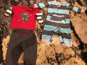 Carter's and pekkles 6 months outfits