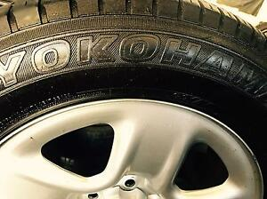 225/65R17 102H  Yokohama Geolander ATS used Tyres set of 4 Summer Hill Ashfield Area Preview