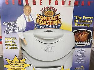 George Foreman Contact Roasting Machine Edensor Park Fairfield Area Preview