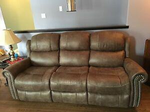 Brand New Reclining Sofa and Recliner Chair