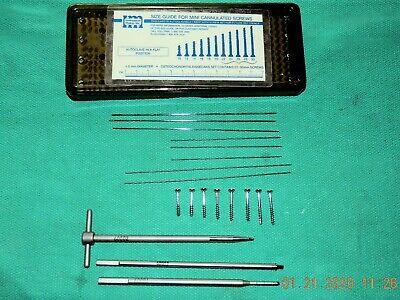 Instrument Makar Kit 6000 Cannulated Screw Driver Switching Sticks Screws