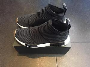 Adidas nmd city sock Black Gum CS1 us9 Felixstow Norwood Area Preview