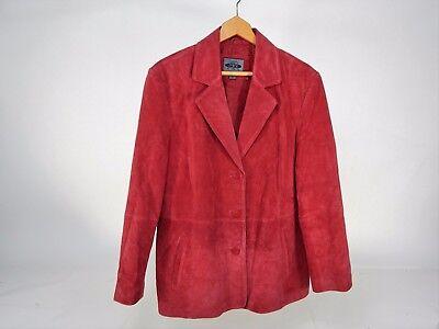 Women's AR Bernardo Fashion Company Red Leather Size XL