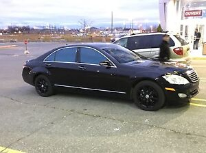 Mercedez-Benz S550 2008 Black On Black
