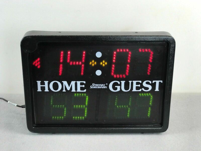 Sportable Multisport Indoor Tabletop LED series Basketball Volleyball Scoreboard