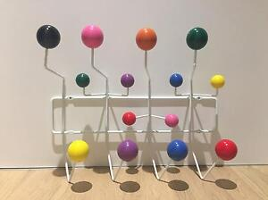 Eames Multicoloured Coat/ Wall Rack (Replica?) Wollstonecraft North Sydney Area Preview