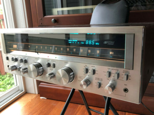 Sansui G-7700 receiver in fantastic condition! Works and sounds great - serviced