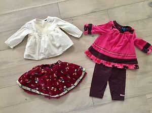 3-6 month girls outfits