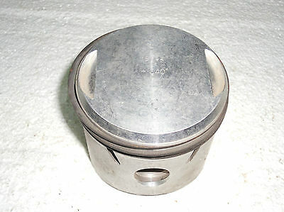 BSA NOS OHV PISTON 350cc +0.40 B40 350 STAR 1961-62 15544 OEM 41-0079