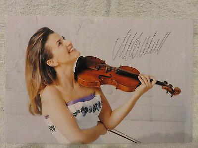 Anne Sophie Mutter - Autogramm, Autograph (20x30 cm Bild)