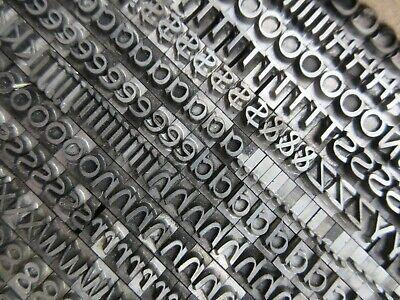 Letterpress Lead Type 24 Pt. Studio Ta - Type Foundry Amsterdam  B11