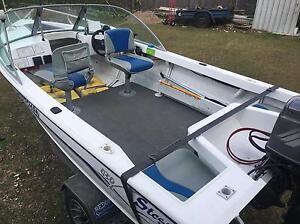 Stessl aluminium boat 40hp 2004 Regents Park Auburn Area Preview