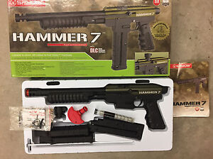 Spyder Hammer 7 + 3 mags, first strike, mint/A1