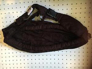 Peanut Shell Baby Sling, chocolate brown colour Ashfield Ashfield Area Preview