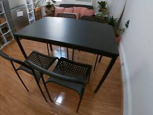 Dinning Table and Chairs Ashfield Ashfield Area Preview