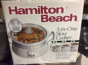 Brand new 3 in 1 slow cooker