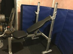 Life Gear Incline, Flat Bench Press  $140