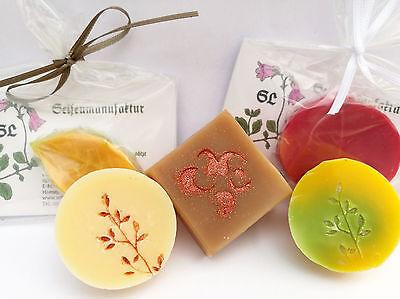 Handgemachte Seife Proben,Miniseifen,kleine Seifen, Gästeseife, Manufakturarbeit
