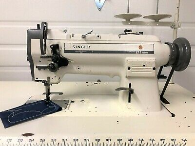 Singer 211a567ab Walking Foot Reverse New 110v Servo Industrial Sewing Machine