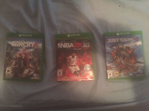 Xbox one games 100 for all