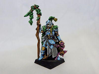 Warhammer Wood Elves  Lord very well painted   oop metal spellweaver