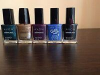 Avon Lotto Stock 5 Smalti - Make Up Nailpolish Varnish Trucchi Cosmetici -  - ebay.it