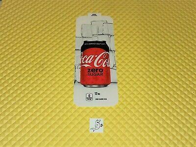 Royal Vendors Soda Vending Machine Coke Zero 12oz Can Vend Label