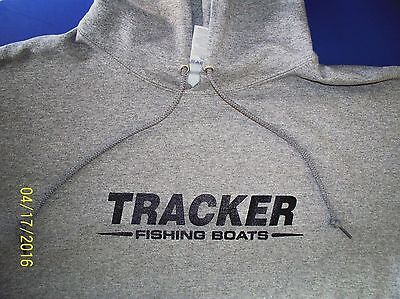 Tracker Boats Screen Printed Oxford Hooded Sweatshirt 9.5 oz. Heavy -