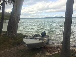11 ft tinny STESSCO boat Burpengary Caboolture Area Preview