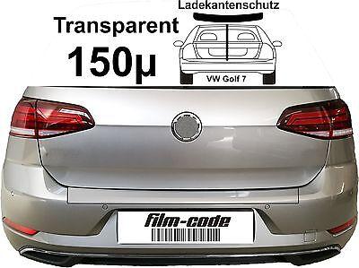 Lackschutzfolie Ladekantenschutz für VW Golf 7 transparent 150µ