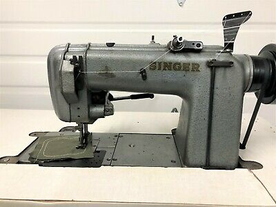 Singer 300w One Needle Walking Foot Chainstitch 220v Industrial Sewing Machine