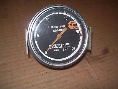 Oliver 175017551800185018551950195520502150 Farm Tractor Tachometer Nice