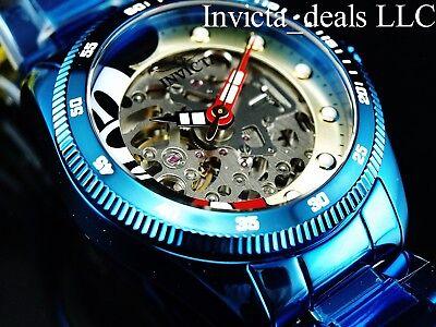 Invicta Women's Disney® 38mm Mickey Mouse LE Automatic Sapphire Blue Tone Watch