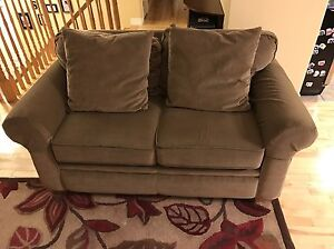 Pull Out Couch, Love Seat & Ottoman