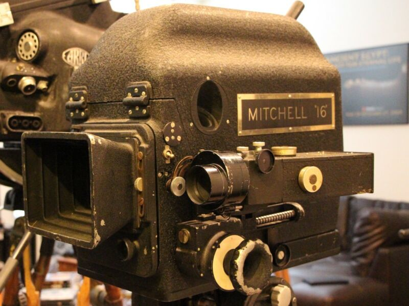 Mitchell 16mm Movie Camera With Blimp