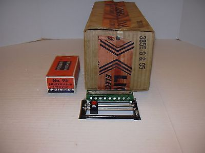 LIONEL STANDARD GAUGE  LOCO 385E-G and 95 ORIGINAL BOX  (ONLY THE BOX)