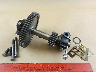 Very Nice Original Atlas Craftsman 10 12 Lathe Headstock Back Gear Assembly