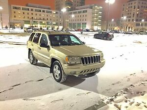 2001 Jeep Grand Cherokee LIMITED 4x4 Fully loaded
